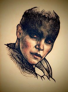 Furiosa from Mad Max Fury Road by Subversive Girl for Sketch Dailies