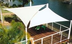 Shop Sun Shade Dubai for outdoor sun shades to match every style and budget. As a leading outdoor shade structure manufacturer and supplier in Dubai, UAE, we have been building shades for decades. Deck Shade, Sun Sail Shade, Outdoor Sun Shade, Backyard Shade, Backyard Pergola, Pergola Shade, Backyard Landscaping, Sails For Shade, Backyard Covered Patios