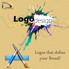#Logo #Designing gives a new identity to your brand! #DesignDomain- a company of logo design in Patna, gives the creative logo designing services that reflect a blend of expertise and sheer perfection.