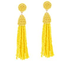 Fancy and free, these BaubleBar drop earrings are going to be the main attraction of any outfit. Page 1 QVC.com