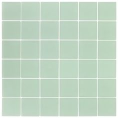 Ocean Glass Tile Aqua Frosted 2x2