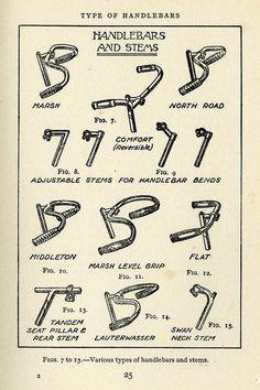1936 handlebars and stems
