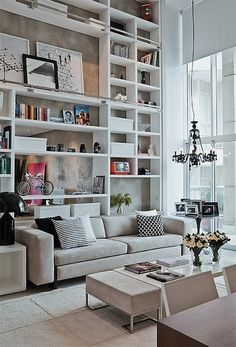 Stunning Library Bookshelves by AphroChic, via Flickr