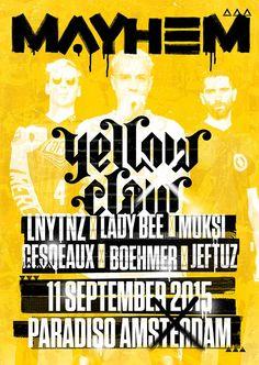 Yellow Claw veroorzaakt Mayhem in Paradiso