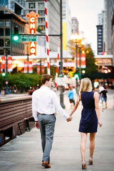 Sarah + Drew Chicago Engagement » Husar Wedding Photography