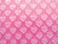heart shaped bubble wrap