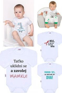 Body s potiskem New Baby - Kulišák. New Baby Products, Onesies, Kids, Young Children, Boys, Babies Clothes, Children, Boy Babies, Jumpsuits