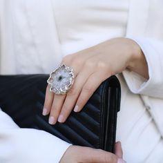 Jewelry and Decor from Brazil в Instagram: «🇷🇺Многим из вас понравились кольца со сталактитом, поэтому они снова в наличии :) ⠀ Самая главная особенность такого украшения - рисунок и…» Rings, Jewelry, Fashion, Jewellery Making, Moda, Ring, Jewerly, Fasion, Jewlery