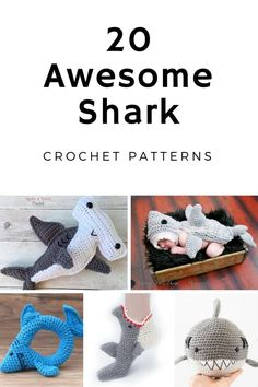 Hungry shark baby slippers free crochet pattern shark slippers awesome shark crochet patterns dt1010fo
