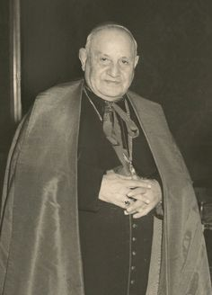 Angelo Giuseppe Roncalli, the future Pope John XXIII, pictured in undated photo