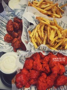 My #FamilyPack is #Hot & #Atomic. At #Wingstop #Charlotte.