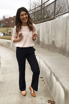 Business Casual Outfit Ideas - Medical School Style