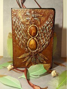 "Notebook ""bird of magic"" Notebooks, Magic, Etsy, Bird, Vintage, Craft Gifts, Schmuck, Birds, Notebook"