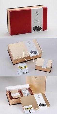 清境(金色)@七言设计采集到茶叶包装(七言)(12图)_花瓣平面设计
