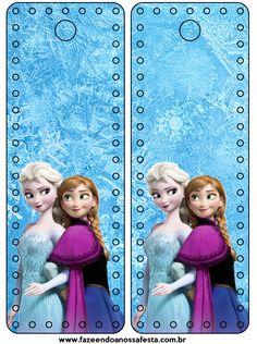 bookmark or id badge    Marcador de Páginas Frozen Disney - Uma Aventura Congelante:    http://www.fazendoanossafesta.com.br/2014/01/frozendisney-umaaventuracongelante.html/frozen-disney-uma-aventura-congelante-3/#main