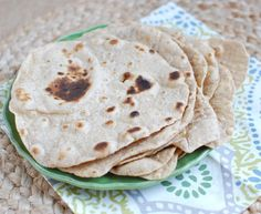 4-Ingredient Whole Wheat Tortillas