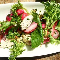 Taste of Summer: Sauteed Radishes & Baby Turnips at the Brooklyn Winery Wine Bar!