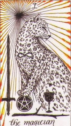 WILD UNKNOWN TAROT --------- **I - Magician** There is magic in many things. Have a good day and drink lots of coffee.