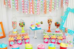 Candy themed kids party