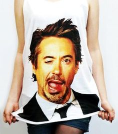 Robert Downey Jr. Shirt <3