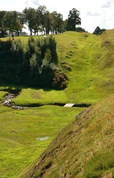 The Roman Antonine Wall - Falkirk AD 150 (Wil) Scotland
