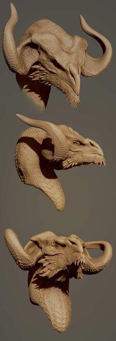 Busto de dragon                                                                                                                                                                                 Más