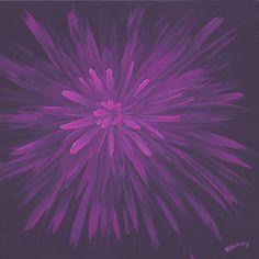 Astrid, acrylic painting on canvas, by Vera Ema Tataro