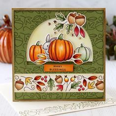 It's a new day of sneak peeks and today is sharing a look at two of our new set Halloween Cards, Fall Halloween, Pretty In Pink, Paper Smooches, Thanksgiving Cards, 8th Of March, Fall Cards, Clear Stamps, Background Patterns