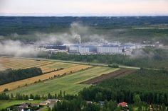Food factory Atria's factory in Nurmo, Seinäjoki. South Ostrobothnia food Province of Western Finland. Atrium, Niagara Falls, Finland, Westerns, Nature, Travel, Food, Viajes, Essen