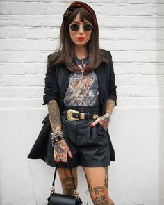 casual summer outfits for women Grunge Look, Style Grunge, Edgy Style, 90s Grunge, Soft Grunge, Grunge Fashion, Look Fashion, Teen Fashion, Womens Fashion