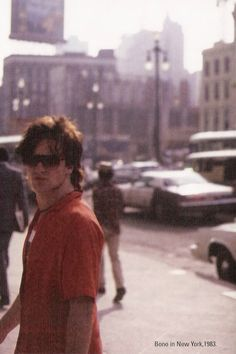 U2 ~ Bono, NYC 1983