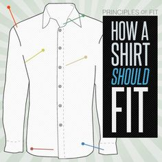 Covering almost a half of your body, the fit of your shirt is paramount for looking your best. We break it down from neck to waist.