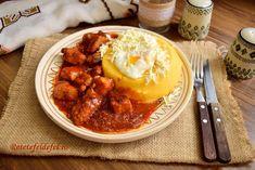 FRIPTURA DE PORC LA CUPTOR - Rețete Fel de Fel Polenta, Curry, Ethnic Recipes, Pork, Curries
