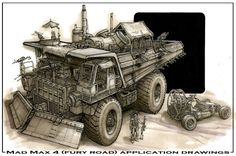 Mad Max Concept Art Concept art from mad max 4 Post Apocalypse, Apocalypse World, Zombie Survival Vehicle, Zombie Apocalypse Survival, Zombies Survival, Post Apocalyptic Art, Mad Max, Dieselpunk, Animes Wallpapers