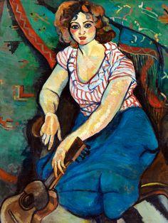 Art And Illustration, Illustrations, Henri Matisse, Maurice Utrillo, L'art Du Portrait, Portraits, Female Painters, Art Français, Post Impressionism