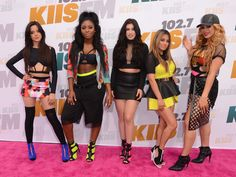 #Hair by Randy Stodghill / Fifth Harmony attends and performs at Wango Tango…