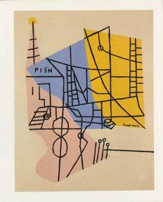 Stuart Davis, Shapes of Landscape Space,1938