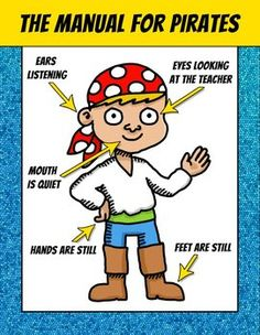 PIRATES CLASSROOM POSTERS – FREE @carolineshaw10 this reminded me of your classroom!!