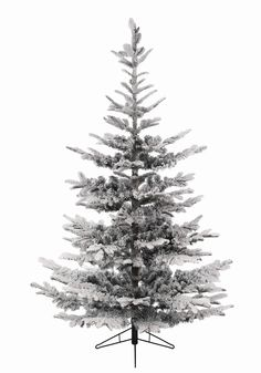 9ft Snowy Nobilis Fir Feel-Real Artificial Christmas Tree