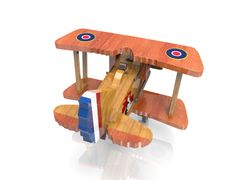 Spad xiii by Lloydswoodtoyplans on Etsy