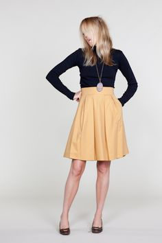 Love this skirt from Emerson Made! I want to make this!