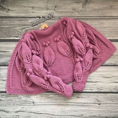 Delicadezas en crochet Gabriela: Hermoso diseño en dos agujas paso a paso hojas alternadas Vogue Knitting, Arm Knitting, Knitting Stitches, Knitting Patterns, Pixel Crochet, Knit Crochet, Crochet Newsboy Hat, Quick Knits, Knitting Magazine