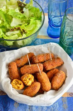 Crocchette di Risotto di zucca al Curry