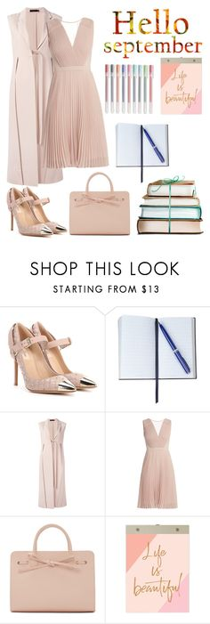 """""""Hello Deptember"""" by giselenotbundchen ❤ liked on Polyvore featuring I Am, Valentino, Smythson, Calvin Klein Collection, Mansur Gavriel, Chronicle Books and Muji"""