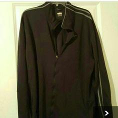 Nike jacket Black  and gray men's zippered  jacket. Nike Jackets & Coats