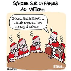 Querelle de famille au Vatican - Dessin du jour - Urtikan.net