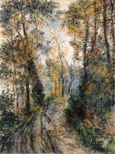 Le chemin dans la forêt, Pierre-Auguste Renoir. (1841 - 1919)