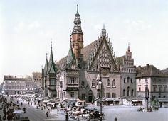 Breslau - Wrocław - Vratislavia 1890