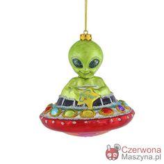 Bombka Gift Company Alien - CzerwonaMaszyna.pl