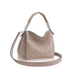 LOUIS VUITTON Babylone Chain Bb. #louisvuitton #bags #shoulder bags #hand bags #lining #leather #metallic #